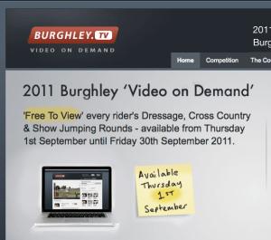 Burghley TV