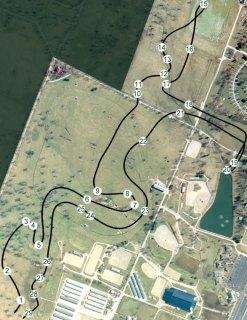 2012 Rolex XC Map
