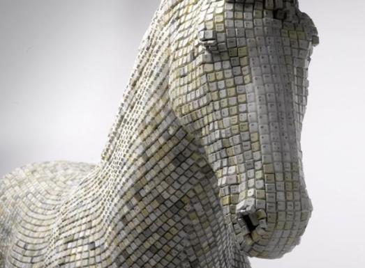 jTrojan Horse by the artist Babis