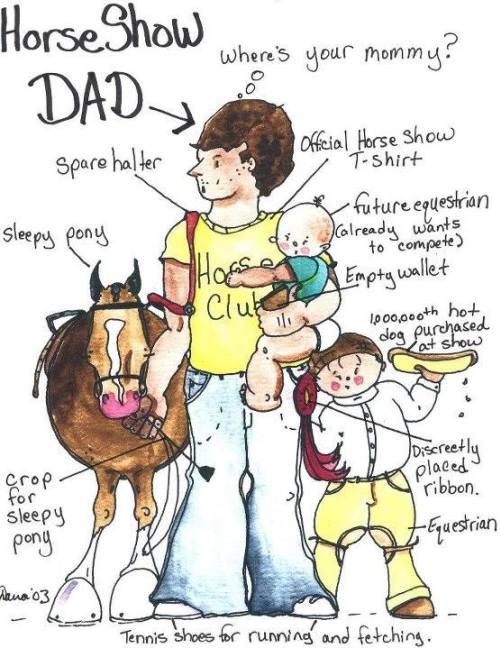 Horse Show Dad