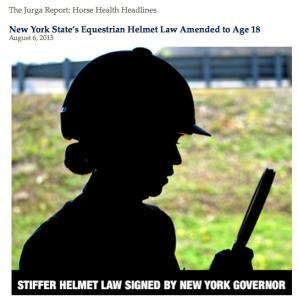 New York extends helmet law to 18.