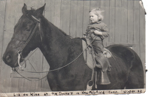 Liz on King, 1962