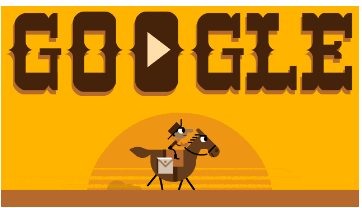 Google Doodle Pony Express