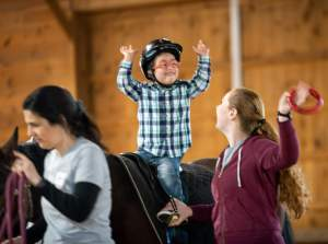 Lovelane Therapeutic Riding program
