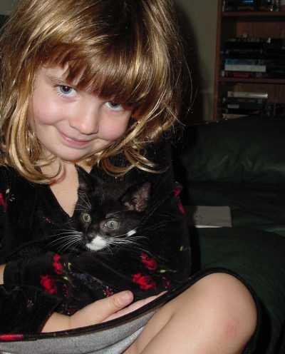 Pounce and my daughter