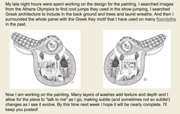 Creating the design