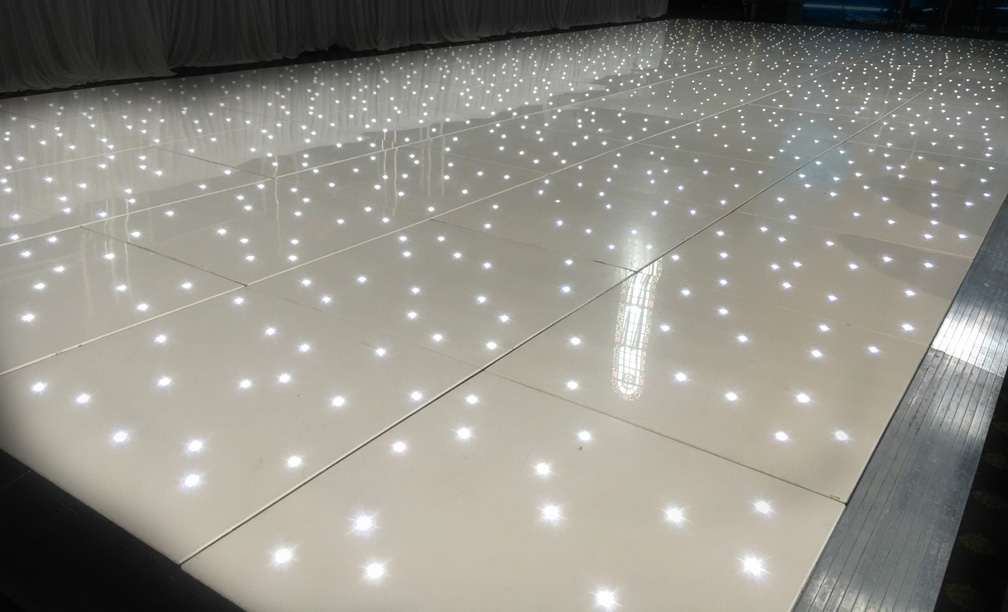LED Starlit Dance Floor Hire  Wedding  Events  Equinox