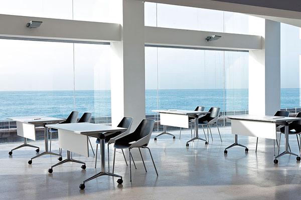Mesas y mobiliario para aulas de formacin mobiliario