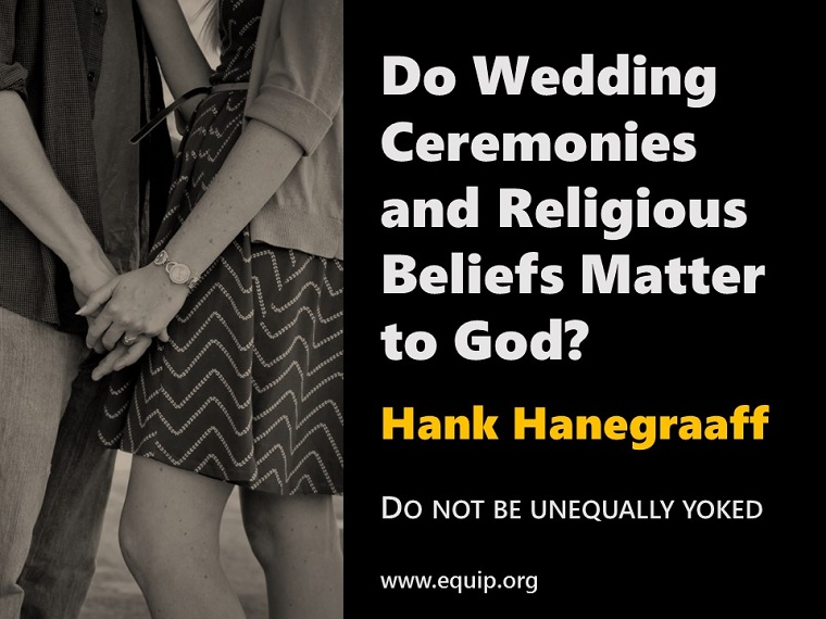 CRI-Blog-Hanegraaff, Hank-Marriage in Church