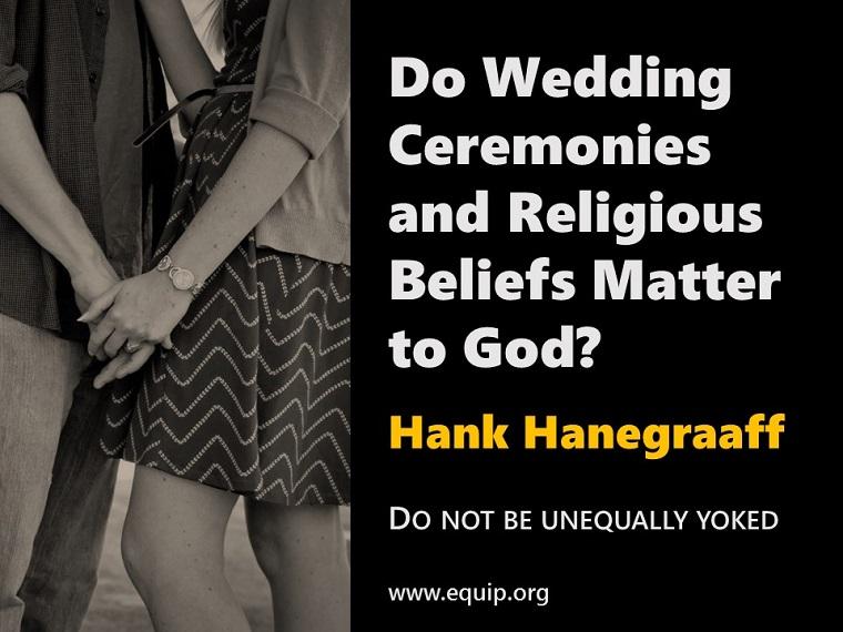 CRI-Blog-Hanegraaff, Hank-Marriage in Church