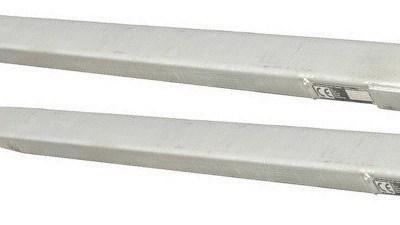 Rallonge de fourches galva. Long.1800 mm