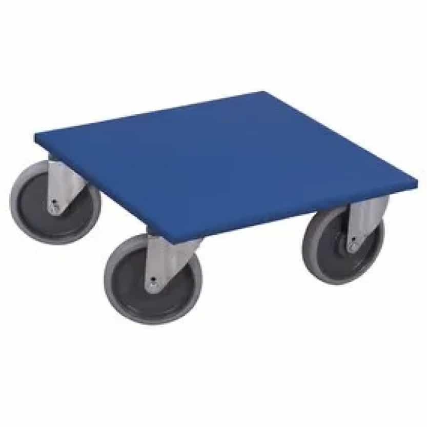 plateau roulant roue bandage caoutchouc