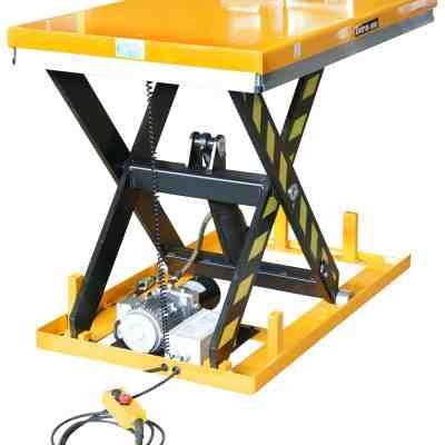 Table élévatrice fixe électrique cap1000 kg