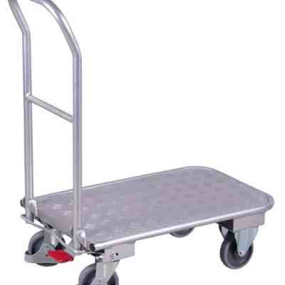 Chariot aluminium dossier repliable