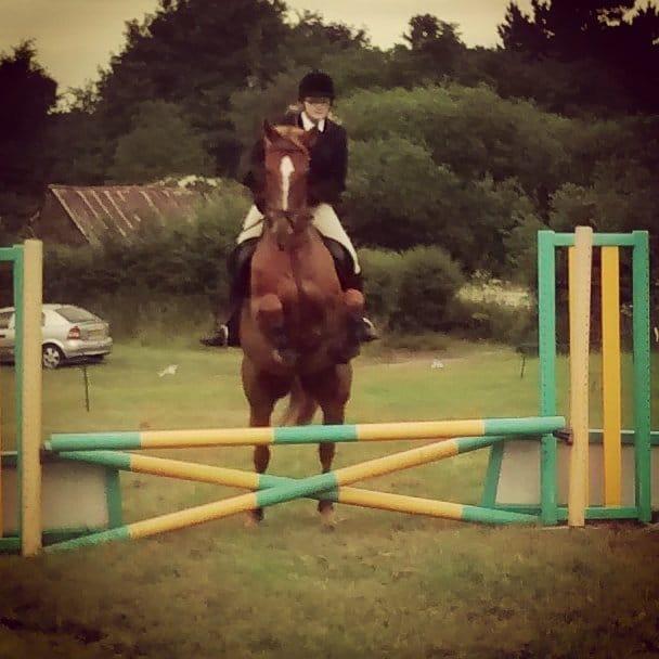 Jumping scottie