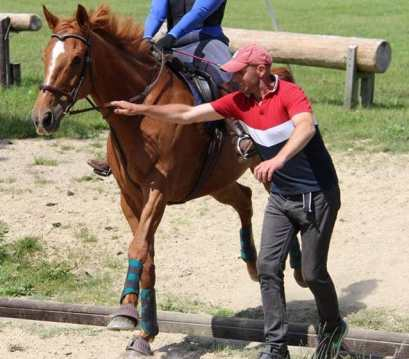 jumping nerves, riding instructor, returning to riding