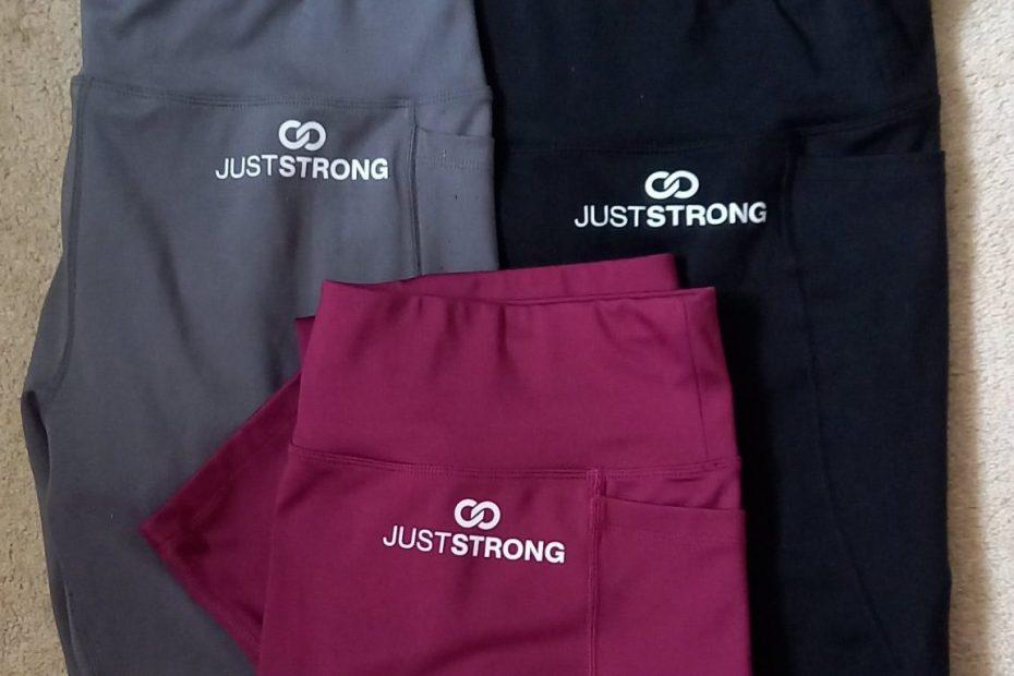 just strong motion leggings
