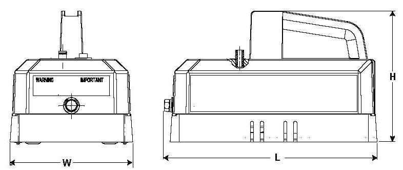 Item # PR102, Electric/Battery Pump Hydraulic PE10 Series