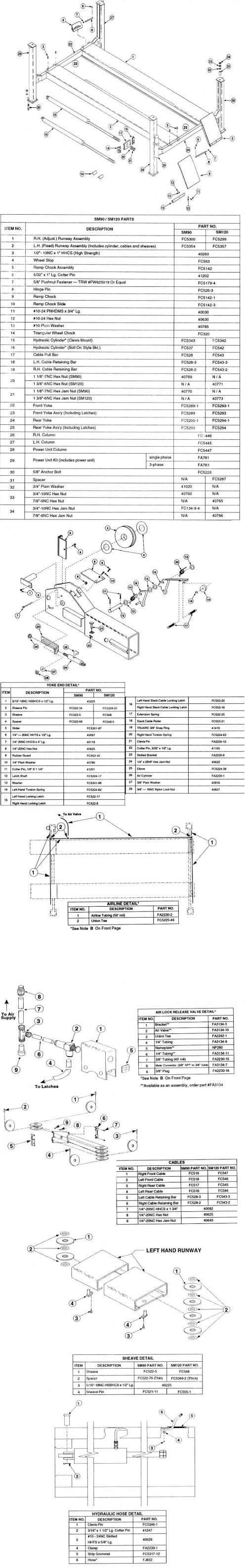 Rotary Lift Diagram - rotary lift hydraulic pump wiring