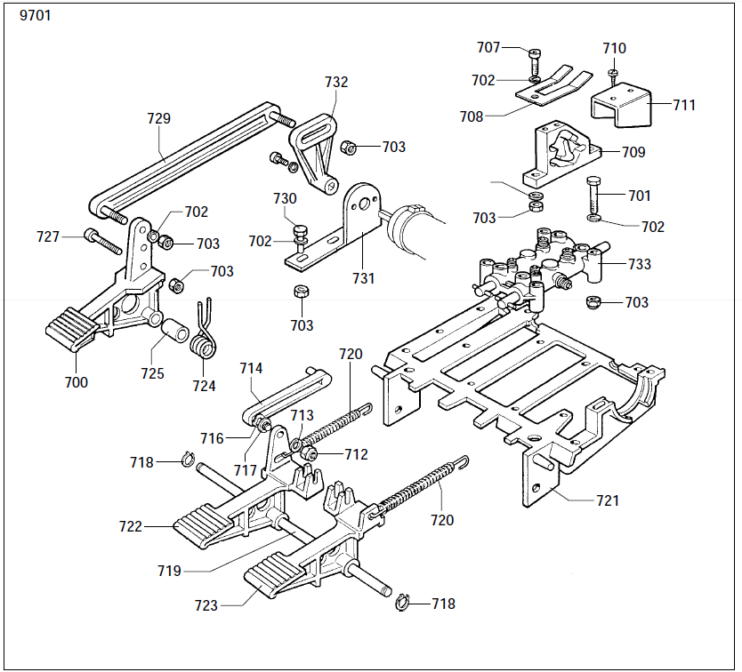 Parts Diagram for Corghi A2000