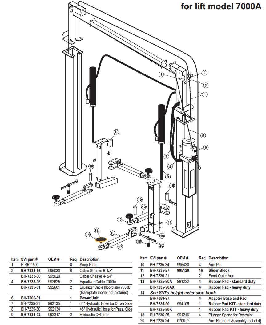 Post Lift: 2 Post Lift Wiring Diagram