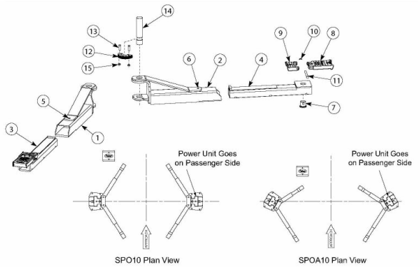 Rotary SPO10-700 Parts Diagram