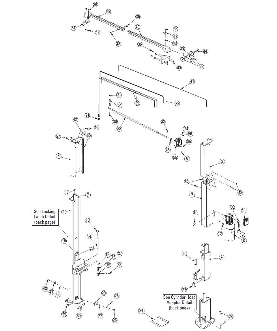 Rotary SPO10W Parts Diagram