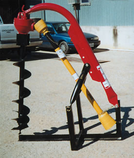 3 Point Digger for Farm Tractors PTO to 50HP AGMXL44A