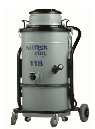 Nilfisk Single-Phase CFM Industrial Vacuum NIL CFM118