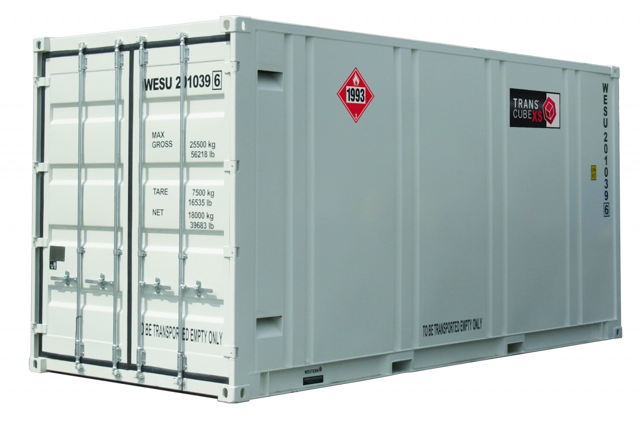 TransCube 7000 Gal. 20 Ft DOT Approved Fuel Container TCS200