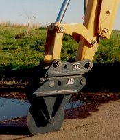 AI HD Quick Coupler Mount 18 in Asphalt Cutter AI-150QC