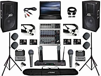 sound equipment rental tools