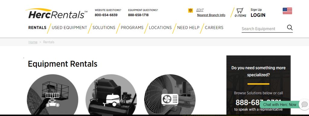 Herc Equipment Rentals