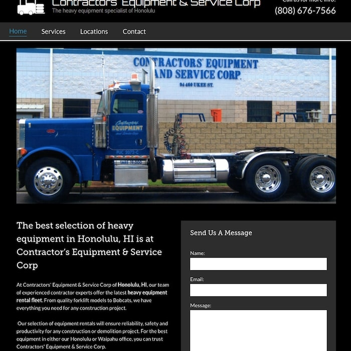 contractors equipment and service corp website