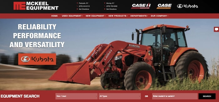 mckeel equipment website