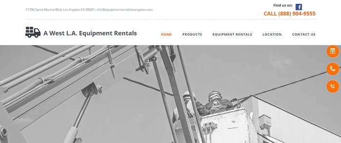construction equipment rental los angeles