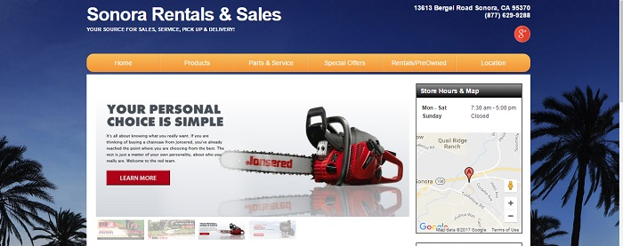 construction equipment rental california sonora rentals and sales
