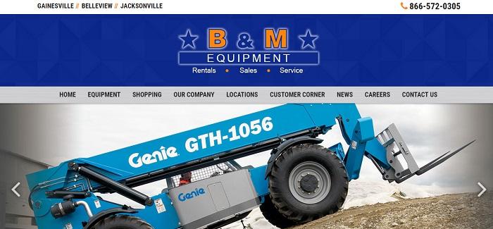 B&M Equuipment Rental Florida