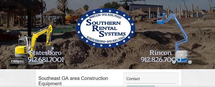 construction equipment rental georgia