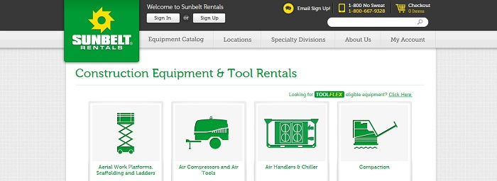 construction equipment rental connecticut