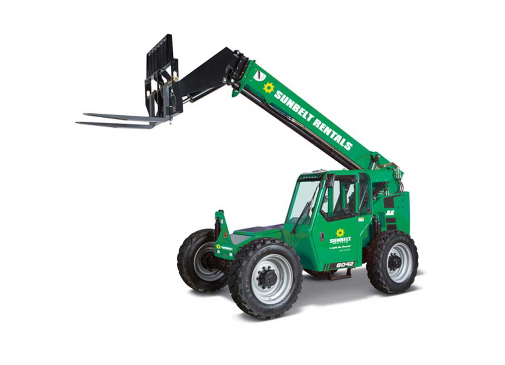 sunbelt forklifts shooting boom
