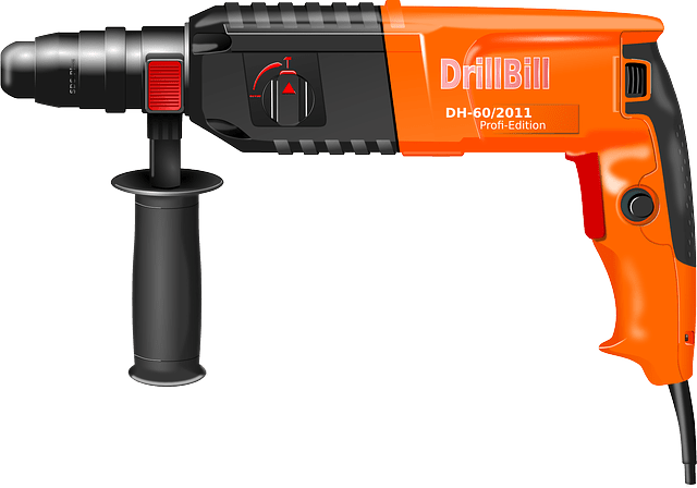 electric power drill for construction
