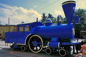 Blue little engine that could