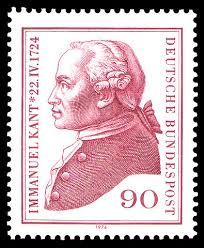 Immaneul Kant stamp