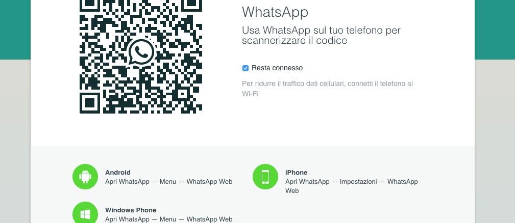 whatsapp su computer