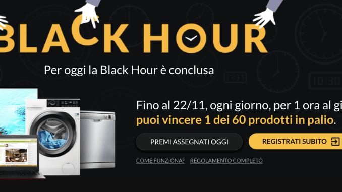 black hour il gioco a premi di e-price