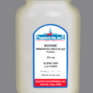 SLB56 -- Bovine IgG Lyophilized >= 97% Purity
