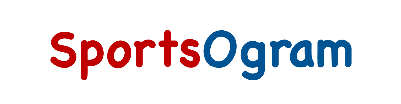 SportsOgram logo red and blue with a capital S and capital O © Equity IX - SportsOgram - Leigh Ernst Friestedt