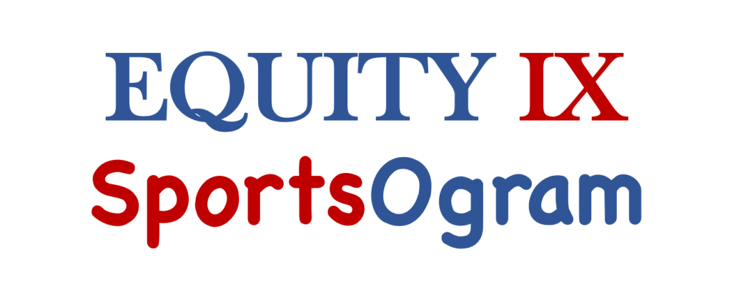 Equity IX - SportsOgram logo is red and blue © Equity IX - SportsOgram - Leigh Ernst Friestedt
