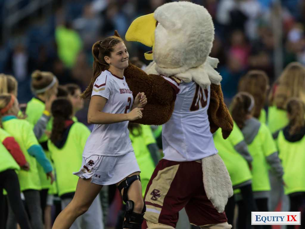#2 Sam Apuzzo - Mascot - Baldwin the Eagle - Boston College - NCAA Women's Lacrosse 2017 Final Four - ACC © Equity IX-SportsOgram-Leigh Ernst Friestedt